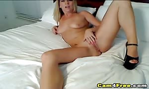 stunning blond beauty gives you another xxx cam explain where she plays her tiny shaven box in front of her webcam with her toy. Watch her slowly stroke in deep her fake penis until she reaches have an orgasm