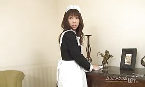 tiny Aiuchi Shiori wildest food insertion action