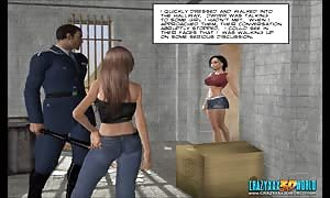 3D Comic: Freehope. scene two