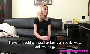 FemaleAgent lovely blond can now not get sufficient of huge titted agent