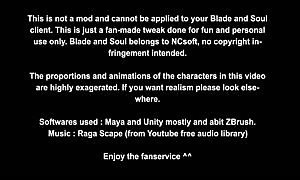 Blade and Soul undressed Mod Dancing