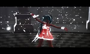 MMD Blue Hair beauty for Valentines GV00097