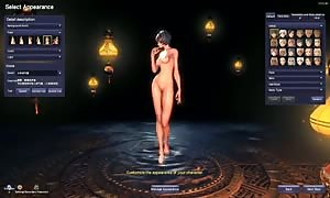 Blade and Soul raw undressed
