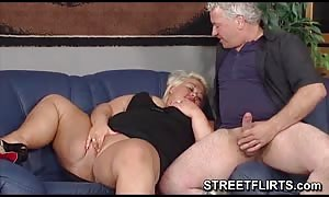 Real gigantic wide humungous wonderful girl provides some messy rough blowjob
