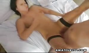 A very turned on huge chested newcummer girlfriend new comer hardcore action ending with a cum shot in her mouth ! real new comer stuff.