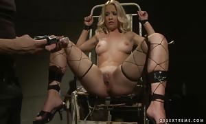 Gina D getting your hands on restrained up rock firm and embarrassed desire a avenue walker