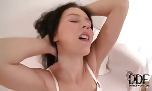 youngster hottie Timea Bela will get stripped and messy