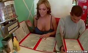 Remarcable Nikki Sexx spend time with a dull stranger