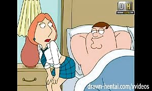 Family guy toon - dirty Lois needs anal