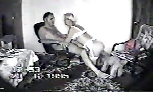Astonishing Russian newcummer sex in the vintage scene form the 90's