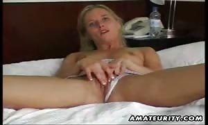 A adorable young new cummer girlfriend beginner masturbating alone and fuck ending with a spunk shot on her turned on natural melons ! genuine newbie amateur hardcore porno !