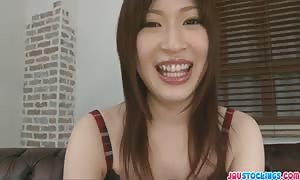lovely asian Oshima vibed and spunk loaded in her mouth